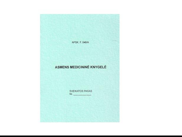 Medicinine knygele